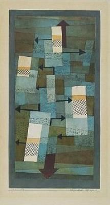 Schwankendes Gleichgewicht... Here's another Klee that I have never seen...just another few thousand to go!