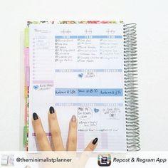 Divida o dia do seu jeito!  Com o Daily Planner é você que está no controle. #meudailyplanner #plannernerd #dailyplanner #plannerdecoration #planejamento