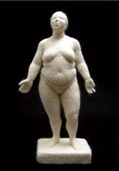 Felt sculpture