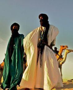 Tuareg Men  Libya-- wonder if they are still alive?