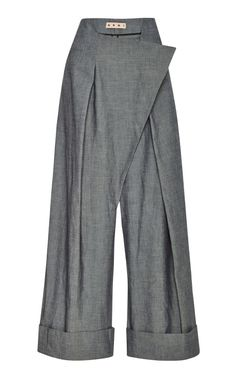 Cotton-Twill Trousers by Marni - Moda Operandi