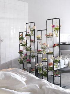 SOCKER plantenstandaard | #IKEA #IKEAnl #inspiratie #wooninspiratie #werkplek #slapen #slaapkamer #kamerscherm #roomdivider #urbangardening #urbanjungle #planten #bloemen #kruiden