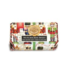 Michel Design Works - Nutcracker Sweet Large Bath Soap Bar  #christmas #soap