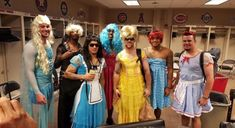 Post with 16 votes and 149 views. Tagged with Funny, , ; The Chicago Cubs' Rookies had Dress-Up-Day today. Espn Baseball, Baseball Scores, Chicago Cubs Baseball, Baseball Boys, Tigers Baseball, Baseball Scoreboard, Baseball Uniforms, Baseball Field, Softball