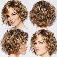 Haircuts for curly hair according to the shape of your .- Cortes de pelo para cabello rizado según la forma de tu rostro Haircuts for curly hair according to the shape of your face %% page %% – - Haircuts For Curly Hair, Curly Hair Cuts, Short Hair Cuts, Curly Hair Styles, Perms For Short Hair, Short Permed Hairstyles, Hair Perms, Perm Hair, Thin Wavy Hair