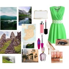 Touring Ireland by emmafayeh on Polyvore featuring мода, Qupid, MICHAEL…