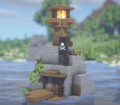 Minecraft Garden, Minecraft Cottage, Cute Minecraft Houses, Minecraft House Designs, Amazing Minecraft, Minecraft Creations, Minecraft Crafts, Minecraft Images, Minecraft Plans