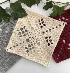 How to Crochet a Solid Granny Square Granny Square Crochet Pattern, Crochet Blocks, Crochet Squares, Crochet Blanket Patterns, Crochet Motif, Crochet Doilies, Granny Squares, Crochet Coaster, Filet Crochet
