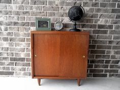 SOLD  Nice Small Vintage MidCentury Bookshelf by stacyevans