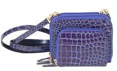 Crocodile Wallet Bag Purple - Crocodile Products Crocolux.com Raphael