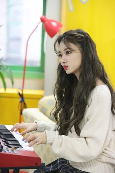 Twice University - Tzuyu Kpop Girl Groups, Korean Girl Groups, Kpop Girls, Nayeon, University Style, University Fashion, Mode Kpop, Jihyo Twice, Twice Kpop