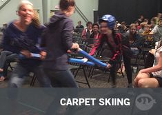 Carpet Skiing: Youth Group Games