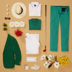 Wear green on the green. That's our motto.