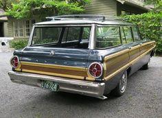 1965 Ford Falcon Squire Wagon