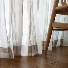 Oltre 1000 idee su tende per la camera da letto su - Tende a filo ikea ...