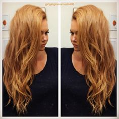 Go Long Or Go Home. Or Go Long At Home (with extensions ) That's the ggg motto! Hair Inspo, Hair Inspiration, Light Strawberry Blonde, Hair Thickening, Shades Of Blonde, Stylish Hair, Wet Hair, Hair Hacks, Hair Goals
