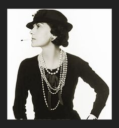 """Coco Chanel promoted the styles we associate with """"flappers"""". A flapper was a woman who embraced the new fashions & urban attitudes. Being a flapper was more of a symbol than a reality. Most flappers wore shorter hemlines, bolder colors, and got a """"bob"""" haircut. Women really wanted to rebel & stand out in the 1920's."""