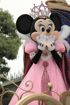 Day 1 favorite original character Minnie Mouse