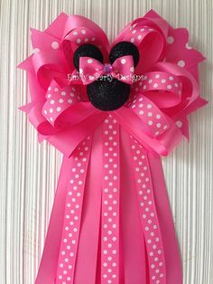 Minnie Mouse Corsage Mommy-To-Be Corsage Baby by designsbyemilys