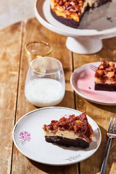 Almás-fahéjas brownie sajttorta recept | Street Kitchen Pound Cake, French Toast, Muffin, Pie, Breakfast, Food, Torte, Morning Coffee, Crack Cake
