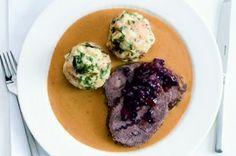 4x svíčková   Apetitonline.cz Mashed Potatoes, Steak, Menu, Eggs, Breakfast, Ethnic Recipes, Prague, Foods, Lifestyle