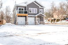 Alair Homes Peterborough | Armour Custom Home | 2,600 sqft | This custom home features a lower suite for rental income and a spacious living area upstairs, a 2-car garage and plenty of outdoor living space.