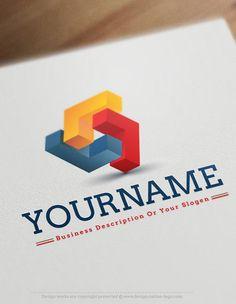 Exclusive Design Buy 3D Abstract Online Logo