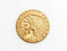 Estate-Found-1913-United-States-Indian-Head-Quarter-Eagle-2-50-Gold-Coin