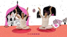 """YOGIC / Yoga para niños - Tutorial Meditación """"La Alfombra Mágica"""" / Jue..."""