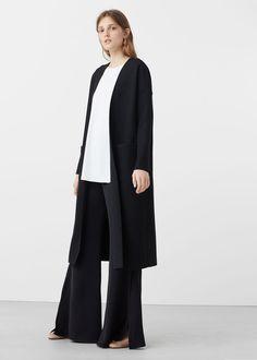 Handmade coat | MANGO