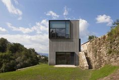 Completed in 2016 in Melgaço, Portugal. Images by Juan Rodriguez . A property composed of a house in ruins, cultivation land, vineyards and a pine forest. The clients intend to recover and augment the house in order...