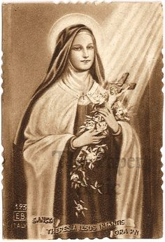 Saint Therese of Lisieux. So excited to take her name when I get confirmed.