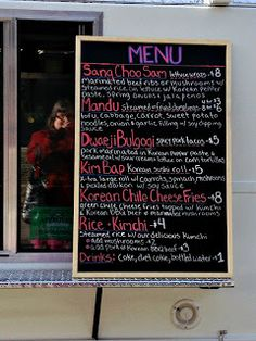 Soo Bak Korean food truck menu - Albuquerque