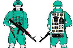 Боевая экипировка «Ратник» https://mensby.com/technology/guns/5826-combat-equipment-warrior  Как будет выглядеть солдат будущего в экипировке «Ратник»? Боевая экипировка «Ратник» приспособлена для действий в самых разных условиях и защищает до 90% тела бойца.