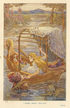 "F. D. Bedford's illustration of ""The Light Princess"""