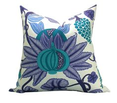 Osborne & Little Maharani pillow cover in by sparkmodern on Etsy