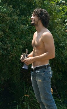 Steven Strait as Cooper Graham in the Naked Werewolf books.     Because of this picture. Nuff said.