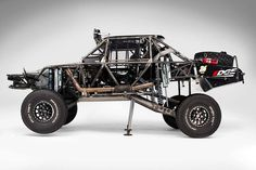 R Motorsports Trophy Truck #26 Baja 1000. With its own built in jacks just like a formula 1 or Indy car.