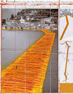 Christo and Jeanne-Claude, Wolfgang Volz · The Floating Piers, Project for Lake Iseo, Italy · Divisare