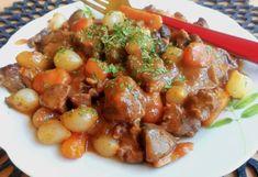 Burgundi marharagu🍷 Pork, Ethnic Recipes, Pork Roulade, Pigs