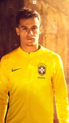 COUTINHO Brazil Players, Brazil Football Team, Football Icon, Football Is Life, Football Boys, World Football, Soccer Guys, Football Players, Coutinho Wallpaper