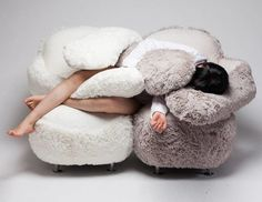 Hug-Giving Sofas - The 'Free Hug Sofa' is Designed to Mimic the Feeling of a Warm Embrace (GALLERY)