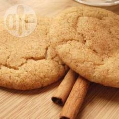 Recipe photo: Snickerdoodles