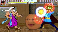 Zeus The God Of Thunder And Batman VS Doctor Strange & Annoying Orange In A MUGEN Match / Battle This video showcases Gameplay of The Annoying Orange And Doctor Strange The Superhero VS Zeus The God Of Thunder From Hercules The Animated Series And Batman The Superhero In A MUGEN Match / Battle / Fight
