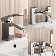 £29.99  Annabel Bathroom Taps Chrome Sink Cloakroom Basin Bath Filler Shower Mixer  | eBay