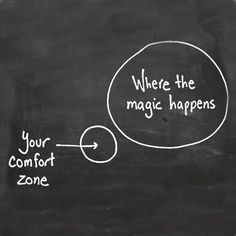 Life Quotes And Words To Live By : Get out of your comfort zone