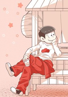 Uploaded by Анька-пулеметчица. Find images and videos about anime, red and osomatsu on We Heart It - the app to get lost in what you love. Ichimatsu, Hot Anime Guys, Manga Illustration, Kawaii Anime, Cute Art, Otaku, Anime Art, Pokemon, Images