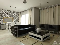 Fantastic living-room, create your dream home decoration in 3D with Homebyme