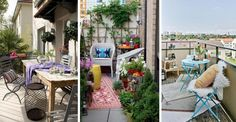 Balkon jako idealne miejsce do odpoczynku: 12 fascynujących pomysłów na jego urządzenie #BALKON #ARANŻACJE