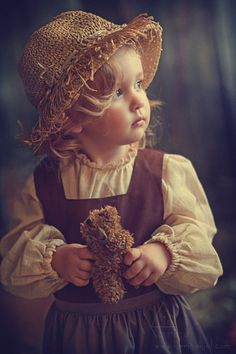Beautiful flowers of our life - the children. Photoartist Karina Kiel